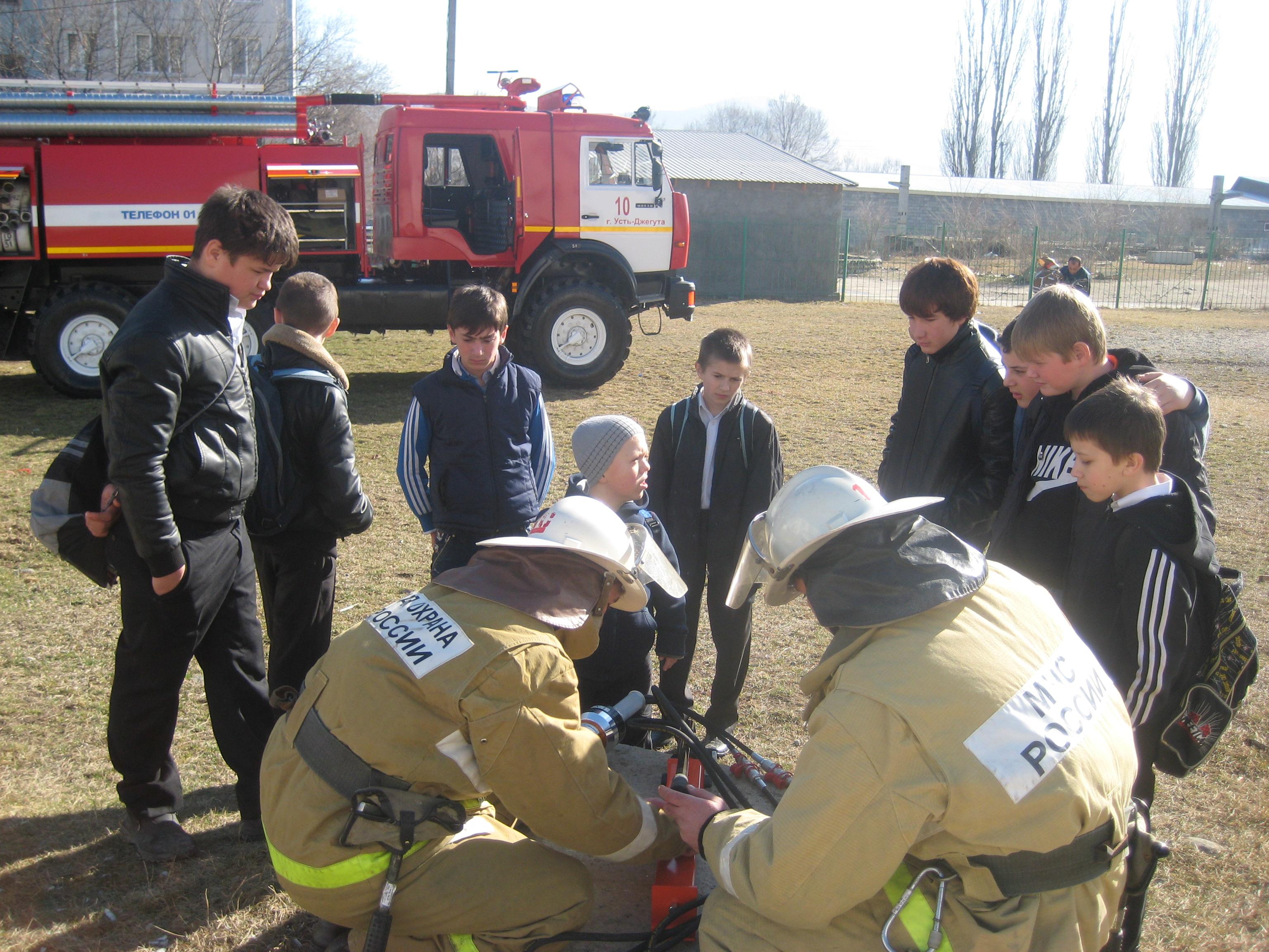 Юных пожарных стало больше