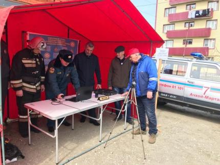 В Чечне проходят тренировки по подготовке к паводкоопасному и пожароопасному сезону