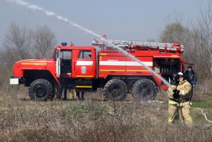 В Чечне провели учения по реагированию на лесной пожар