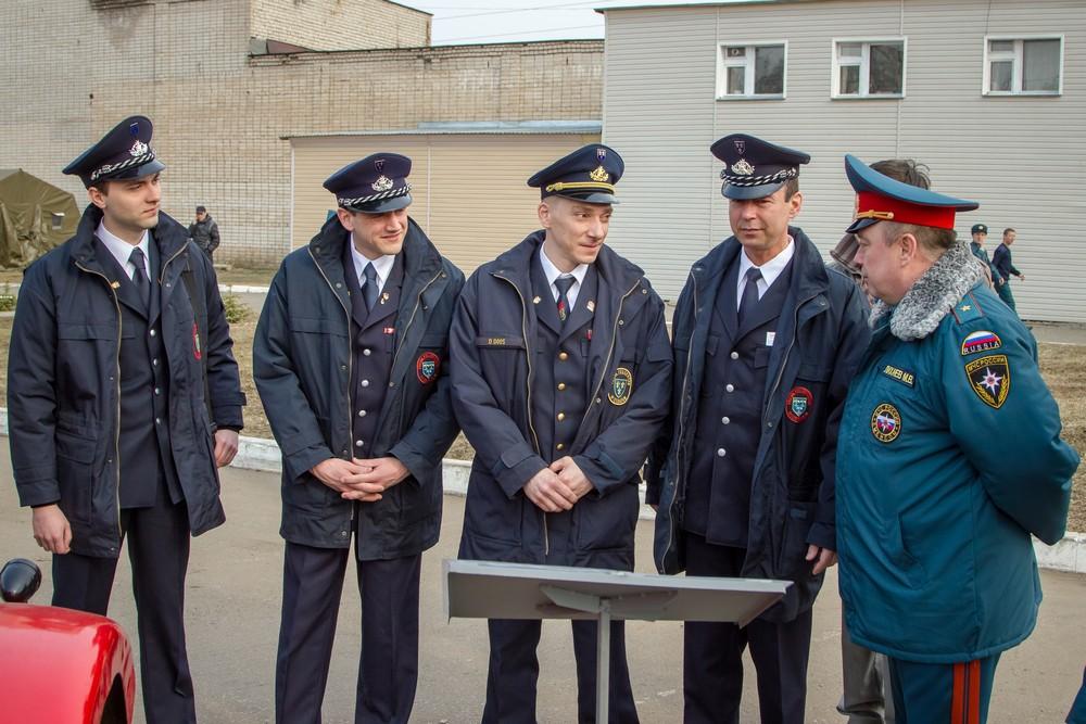 Делегация немецких пожарных прибыла в Киров