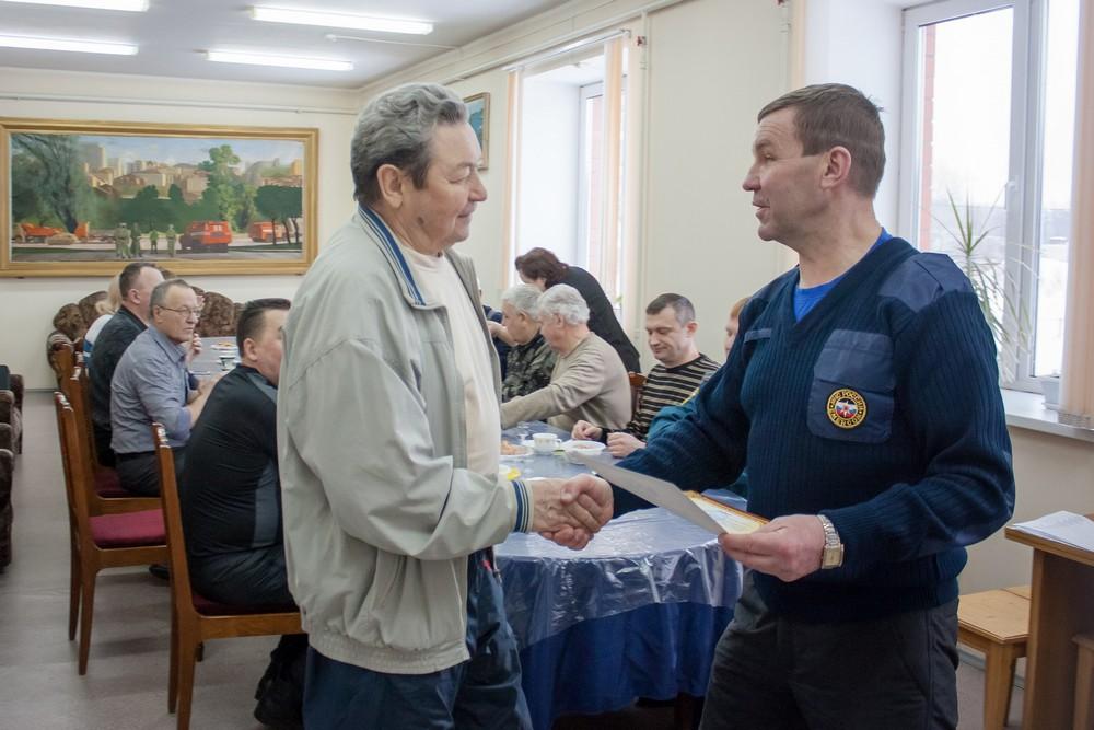 О ветеранской организации  Главного управления МЧС России по Кировской области