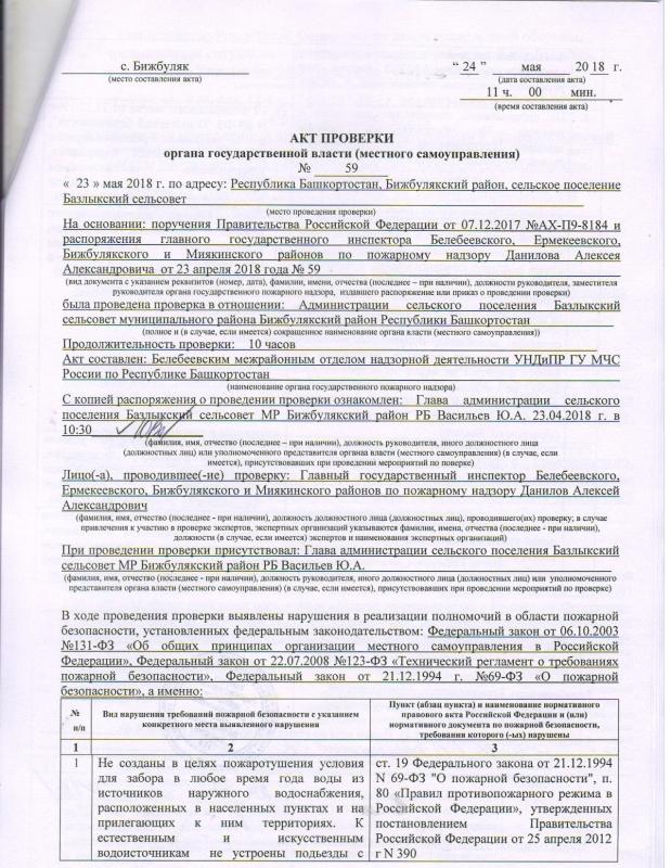 Сельское поселение Базлыкский сельсовет Бижбулякского района