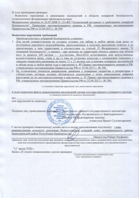 Сельское поселение Исянгуловский сельсовет Зианчуринского района