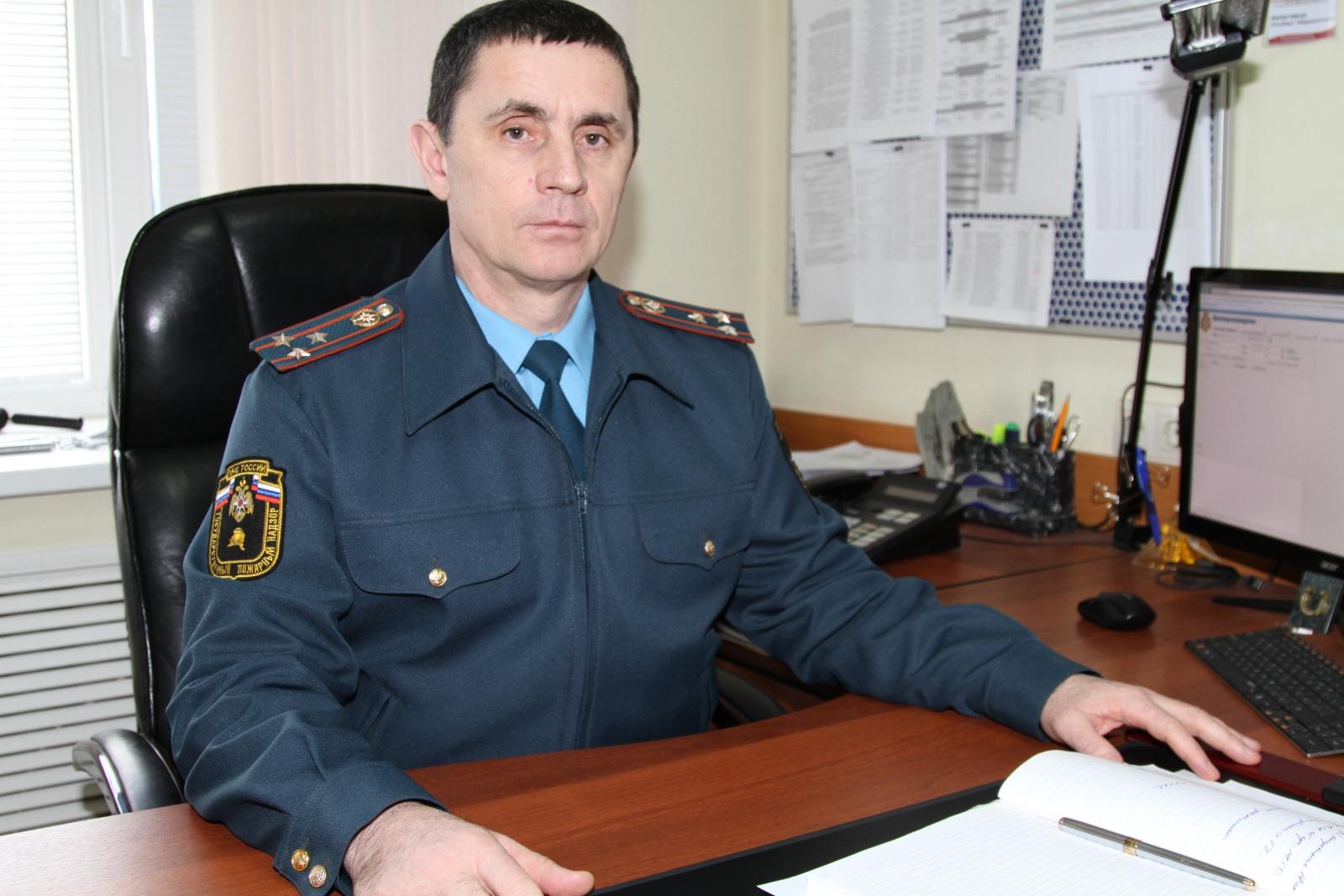 О подготовке к летней оздоровительной кампании рассказал заместитель начальника УНД и ПР полковник внутренней службы  А.А.Ибрагимов