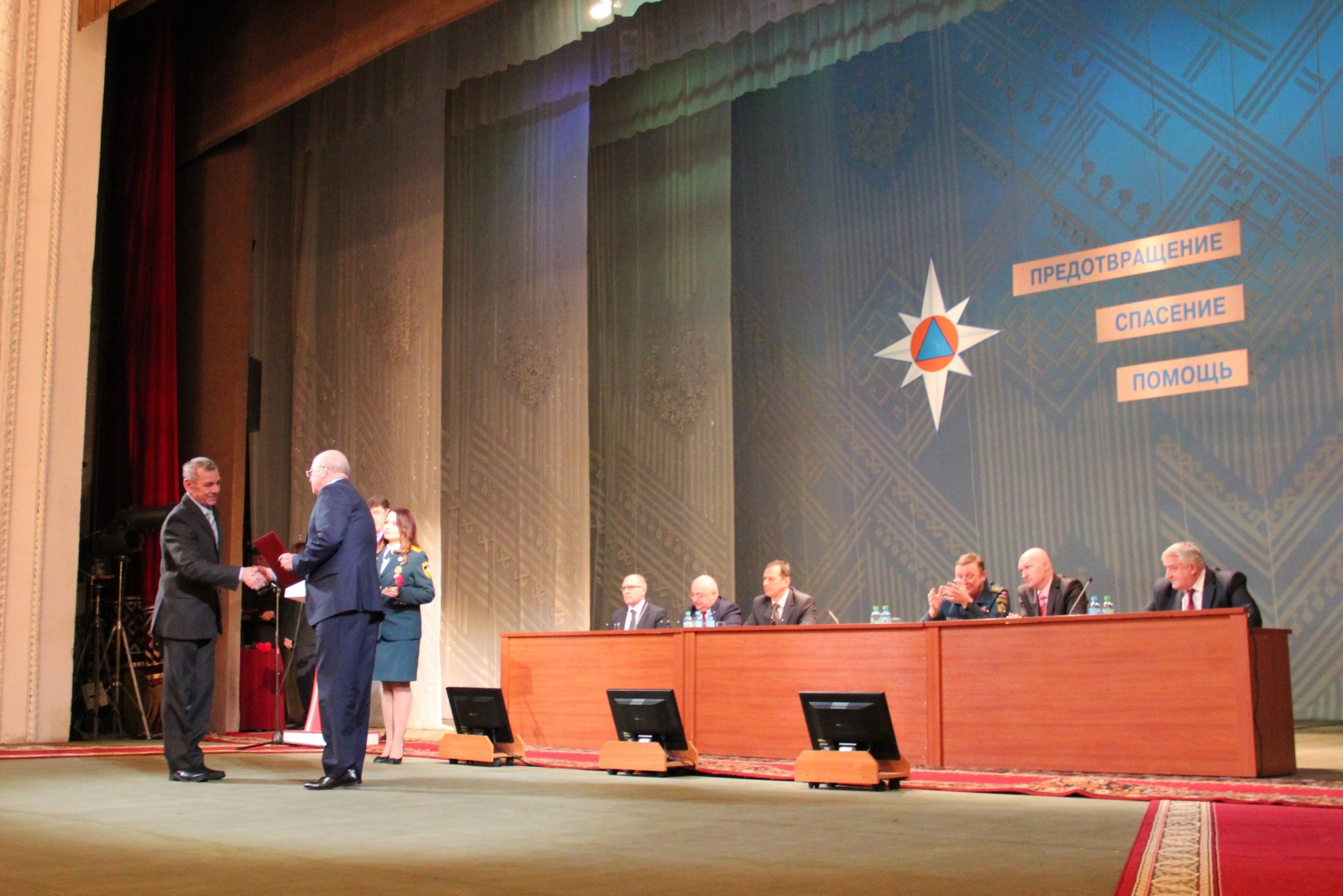 Подведение итогов деятельности территориальной подсистемы РСЧС за 2014 года