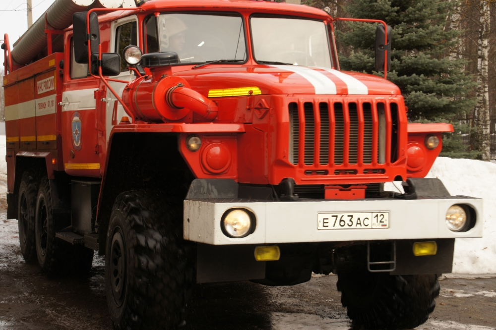 Пожарно-тактическое учение в Политехническом лицее-интернате