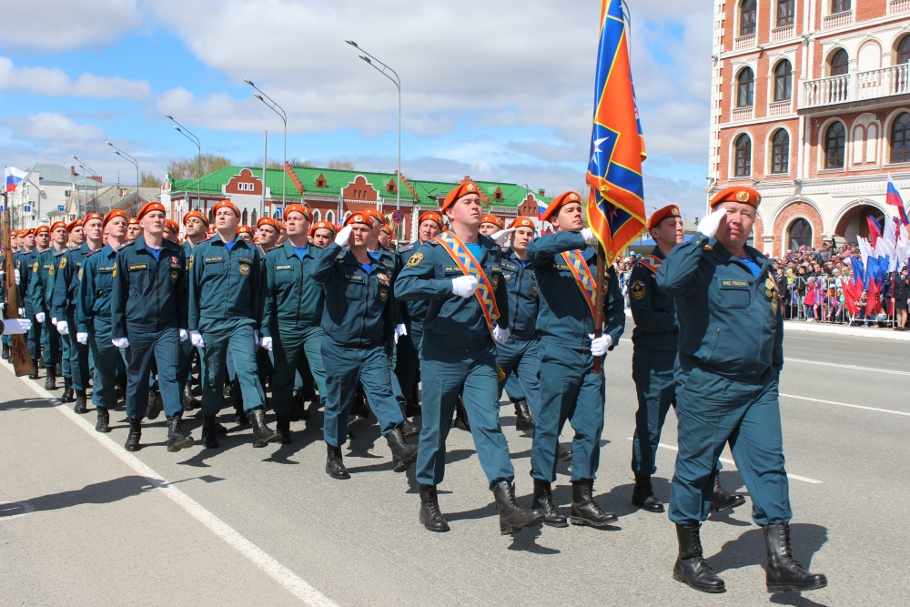 Торжественные мероприятия, посвященные Дню Победы