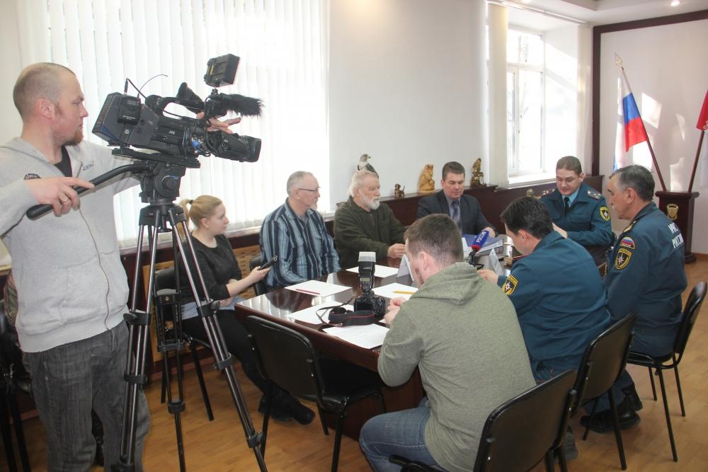 """Пресс-конференция """"Год культуры безопасности"""""""