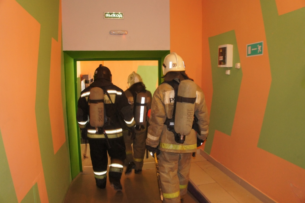 Проверка пожарной безопасности и пожарно-тактические учения в торгово-развлекательных центрах