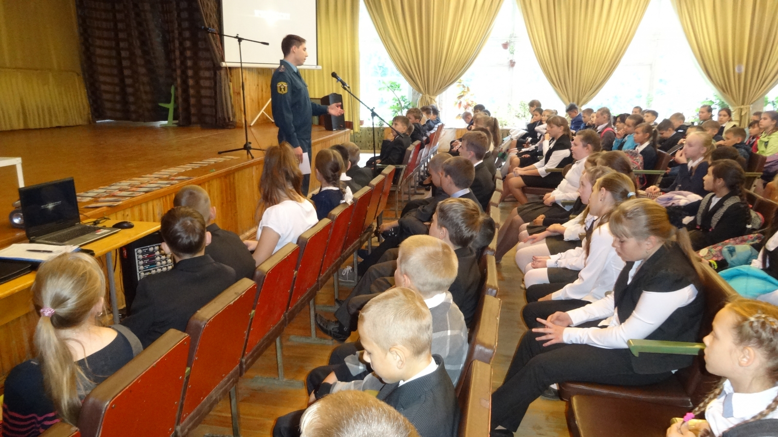 Дни безопасности в школах 2015