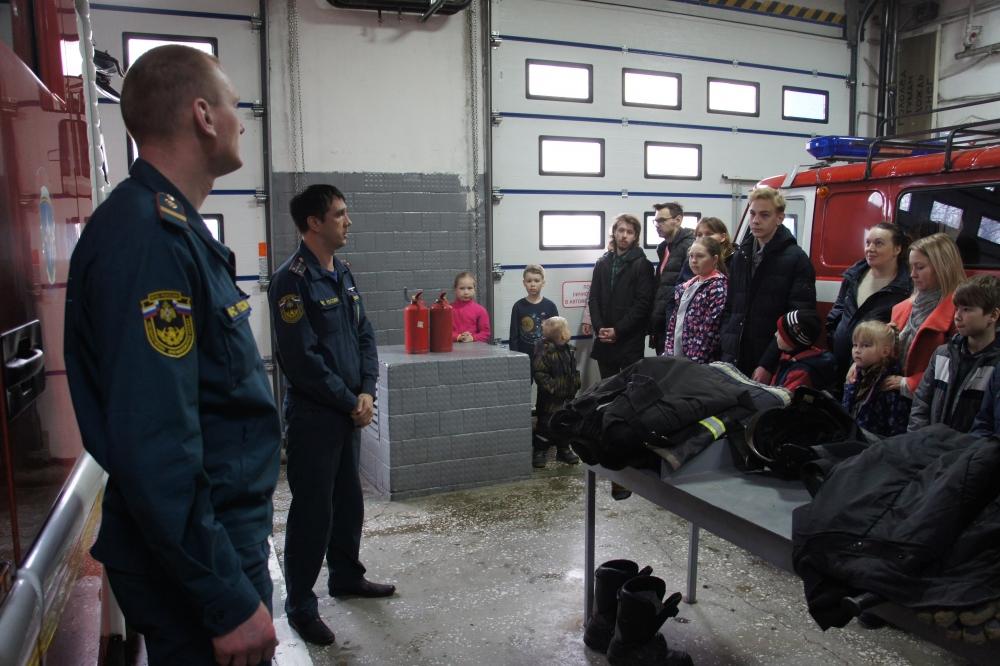 Пожарный квест в СПСЧ