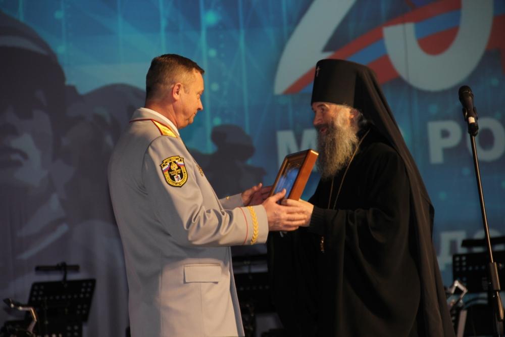 Торжественное мероприятие, посвященное Дню спасателя и 25-летию МЧС России