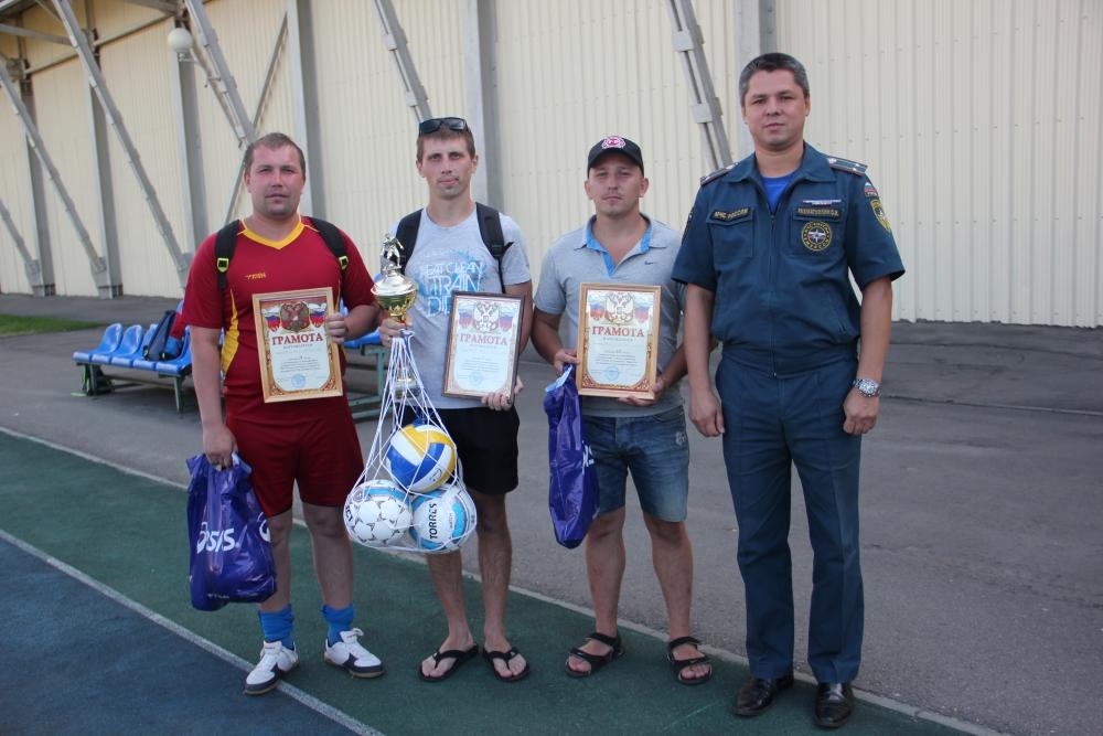 Соревнования по мини-футболу в спасательном ведомстве