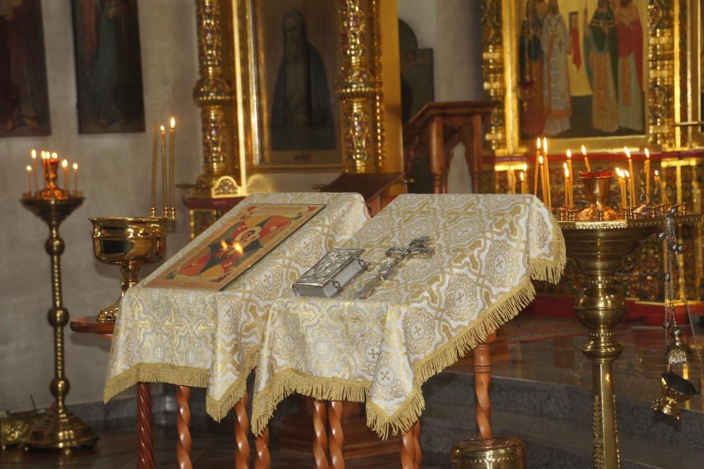 Молебен, посвященный иконе Неопалимая купина