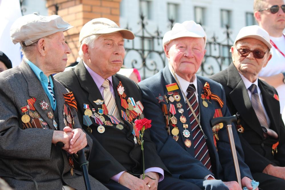 Торжественные мероприятия в День Победы