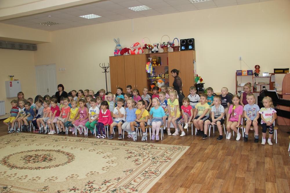Профилактическая беседа в детском саду Жемчужина