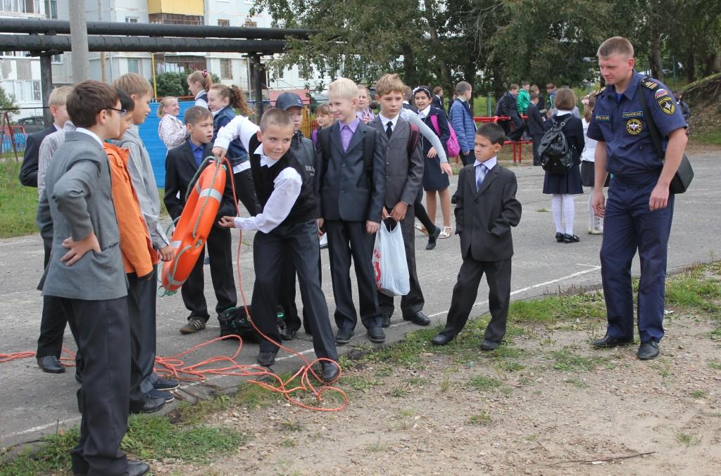 День безопасности в школе №24