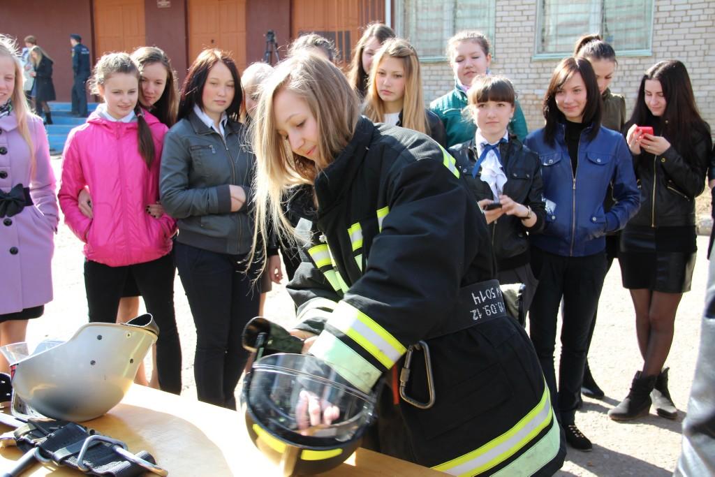 Урок ОБЖ в День пожарной охраны