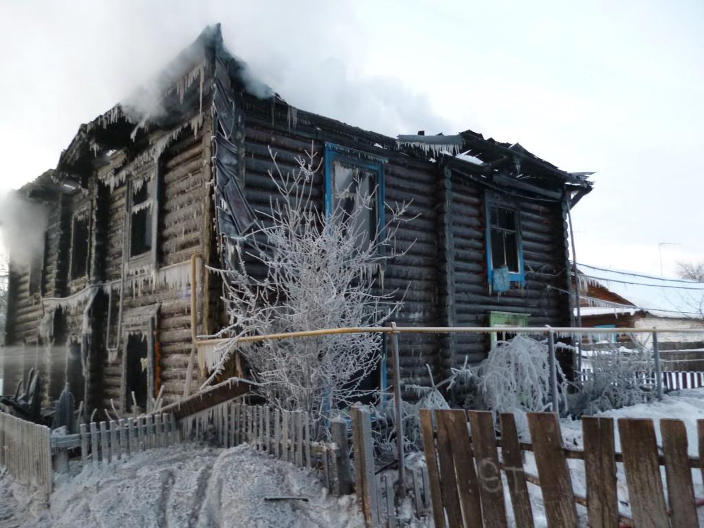 Пожар в пос. Мари-Турек