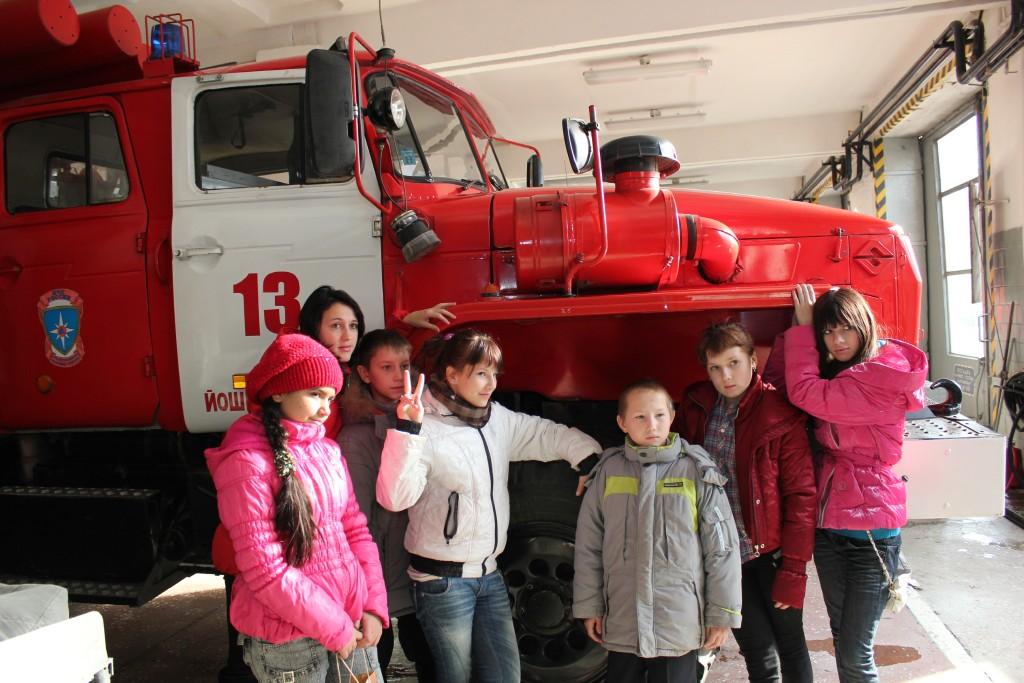 Экскурсия для воспитанников Волжской школы-интерната