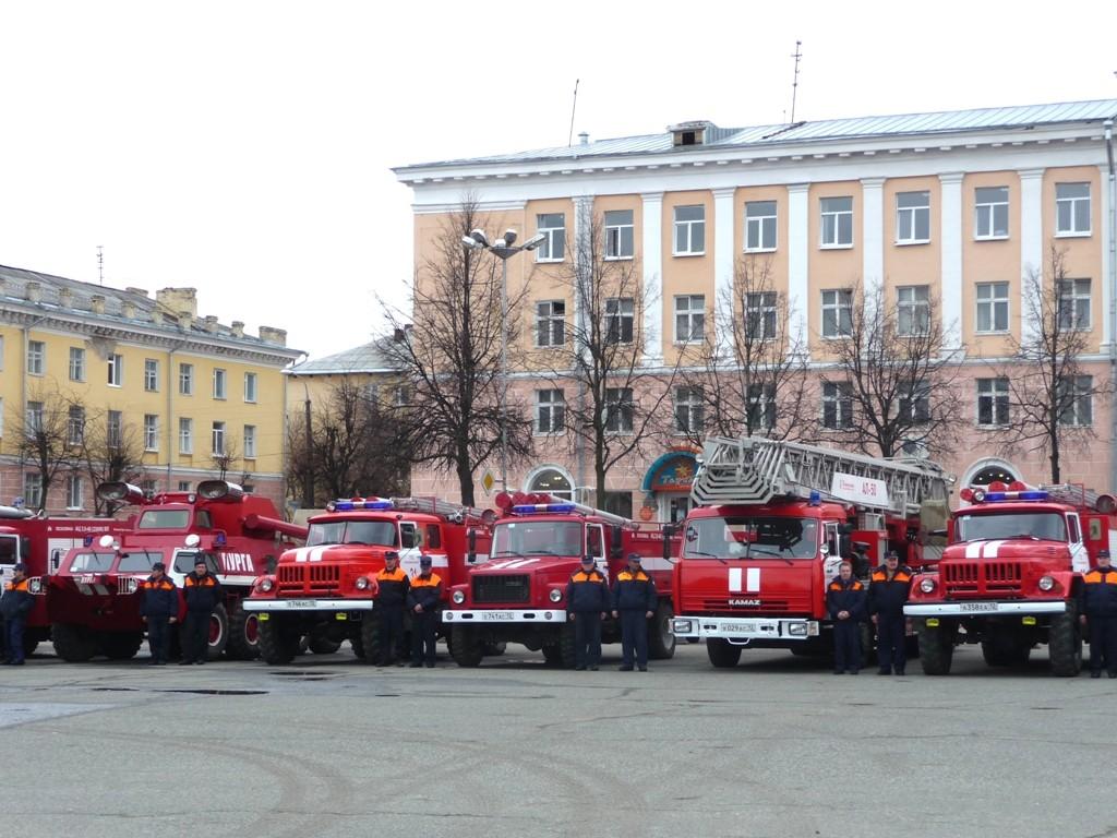 Освящение пожарной техники