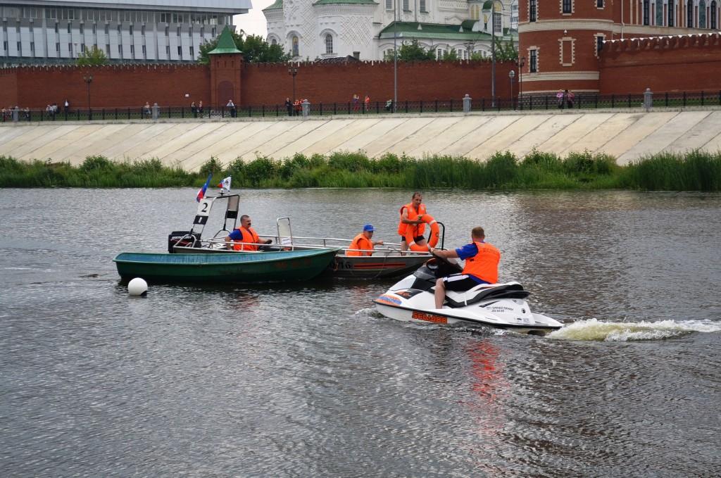 Водно-моторные соревнования ГИМС. 2-й день