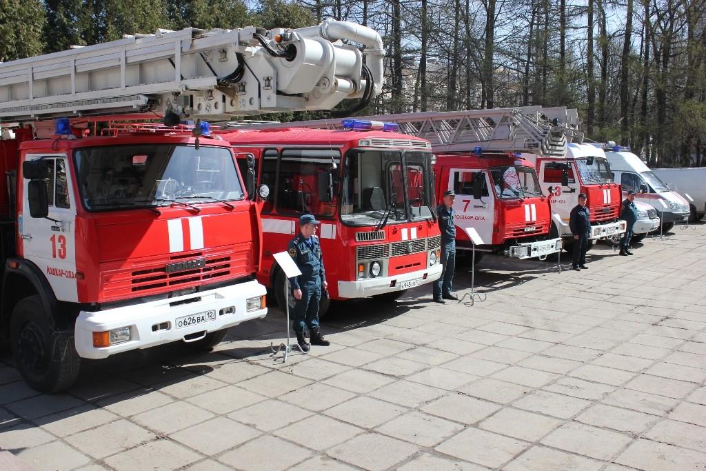 День пожарной охраны - 2014
