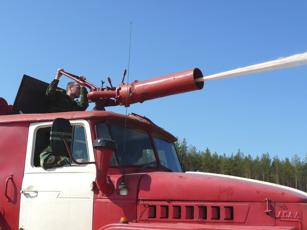 Учения по взаимодействию при тушении крупных лесных пожаров