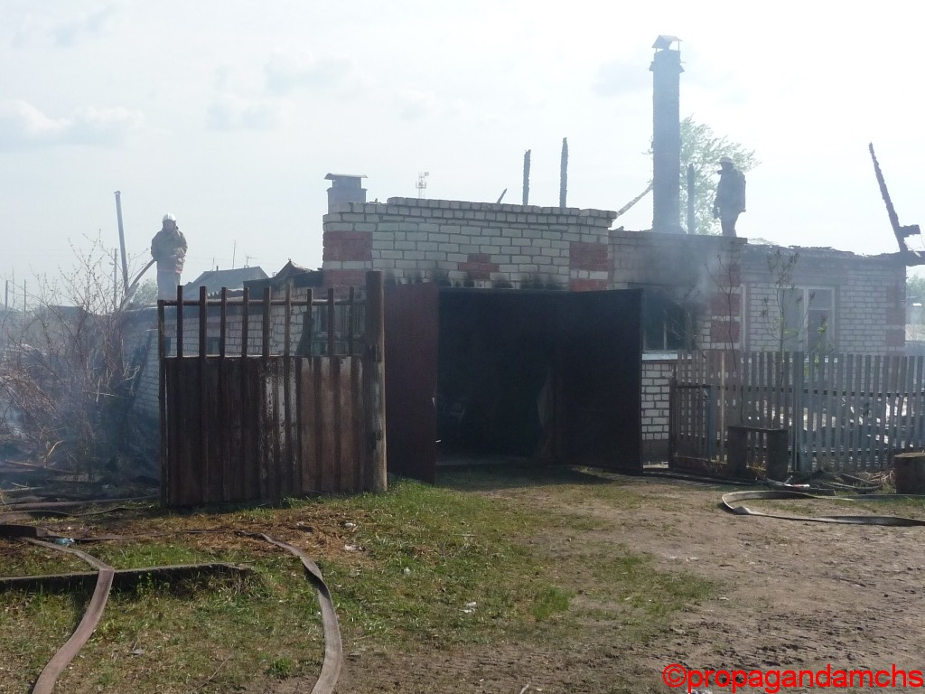 В поселке Сурок сгорело четыре  дома