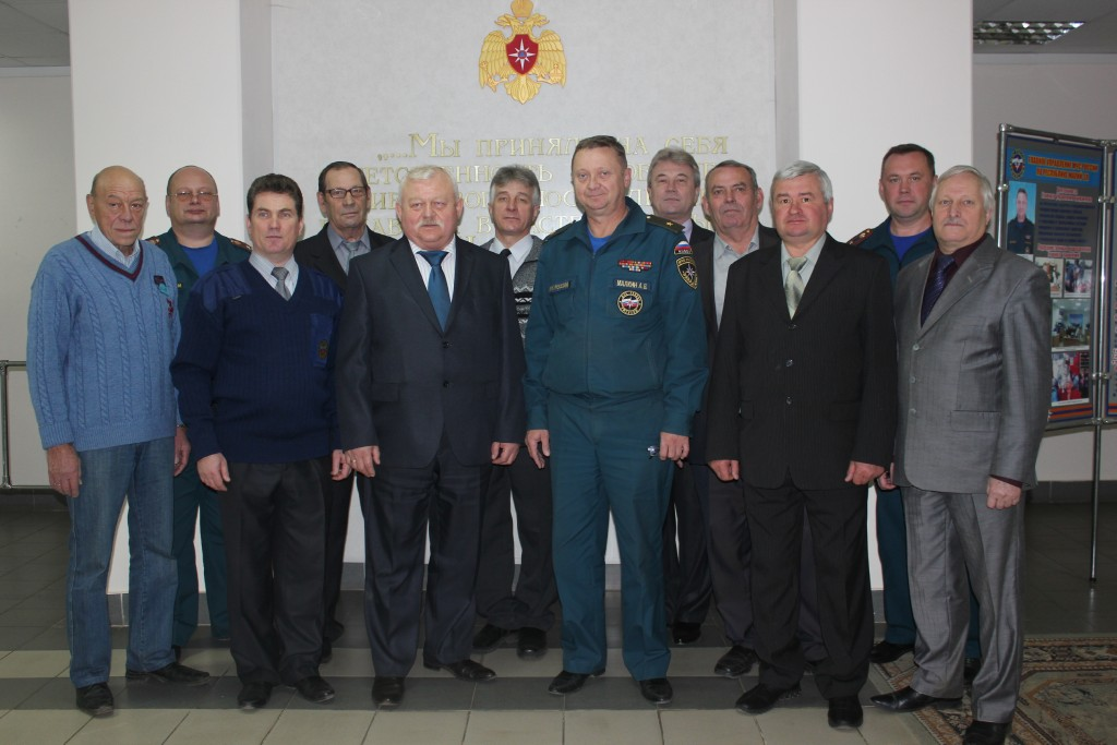 Встреча с ветеранами в день Гражданской обороны