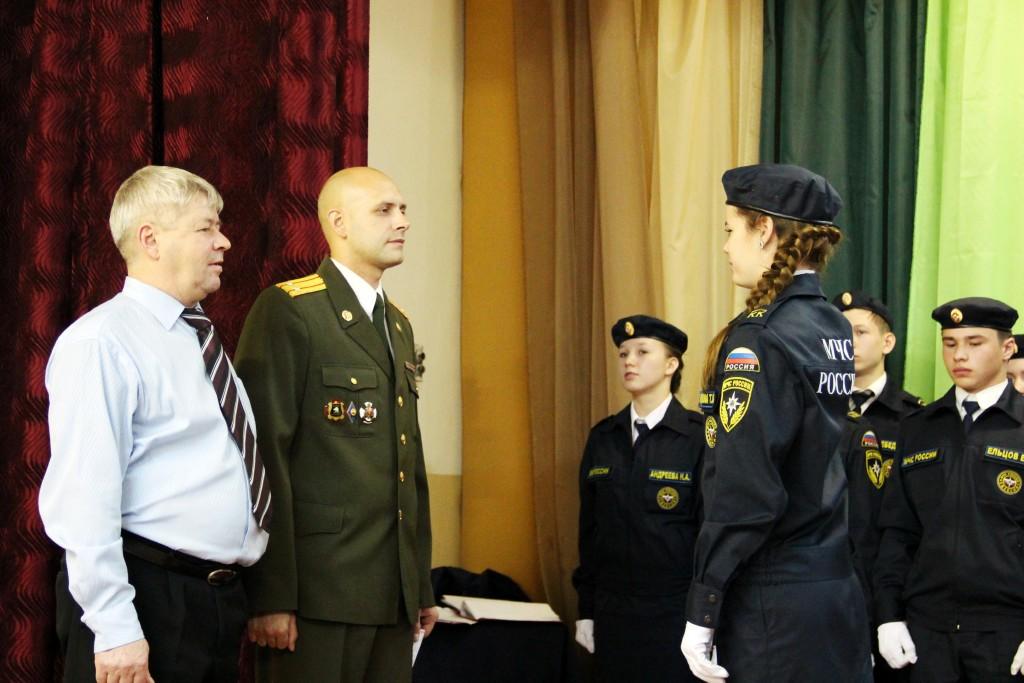 Посвящение в кадеты (школа №24)