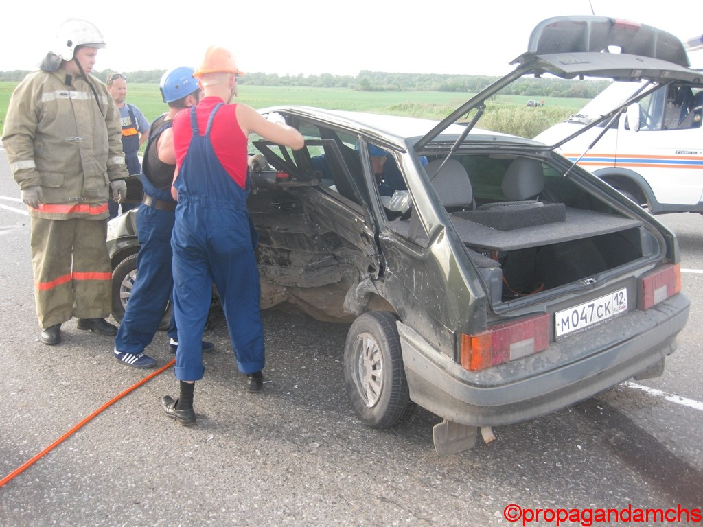 Авария на Сернурском тракте