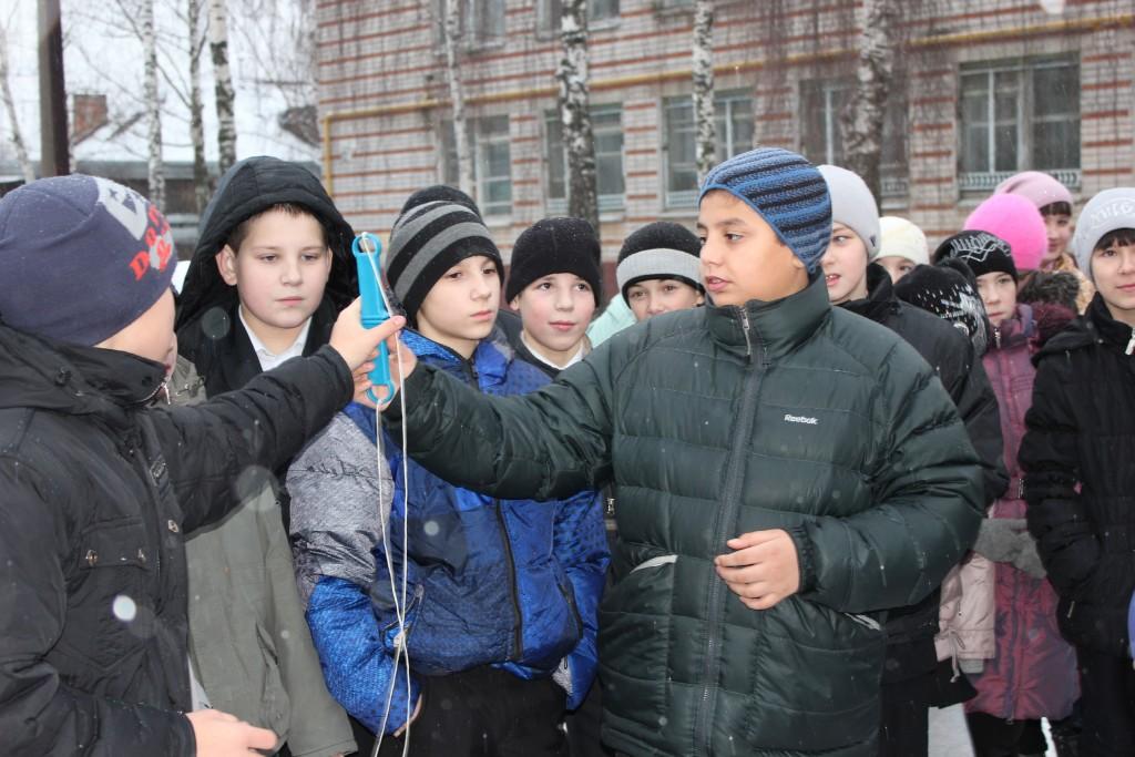 Профилактическая беседа в школе № 13 по мерам безопасности на водных объектах