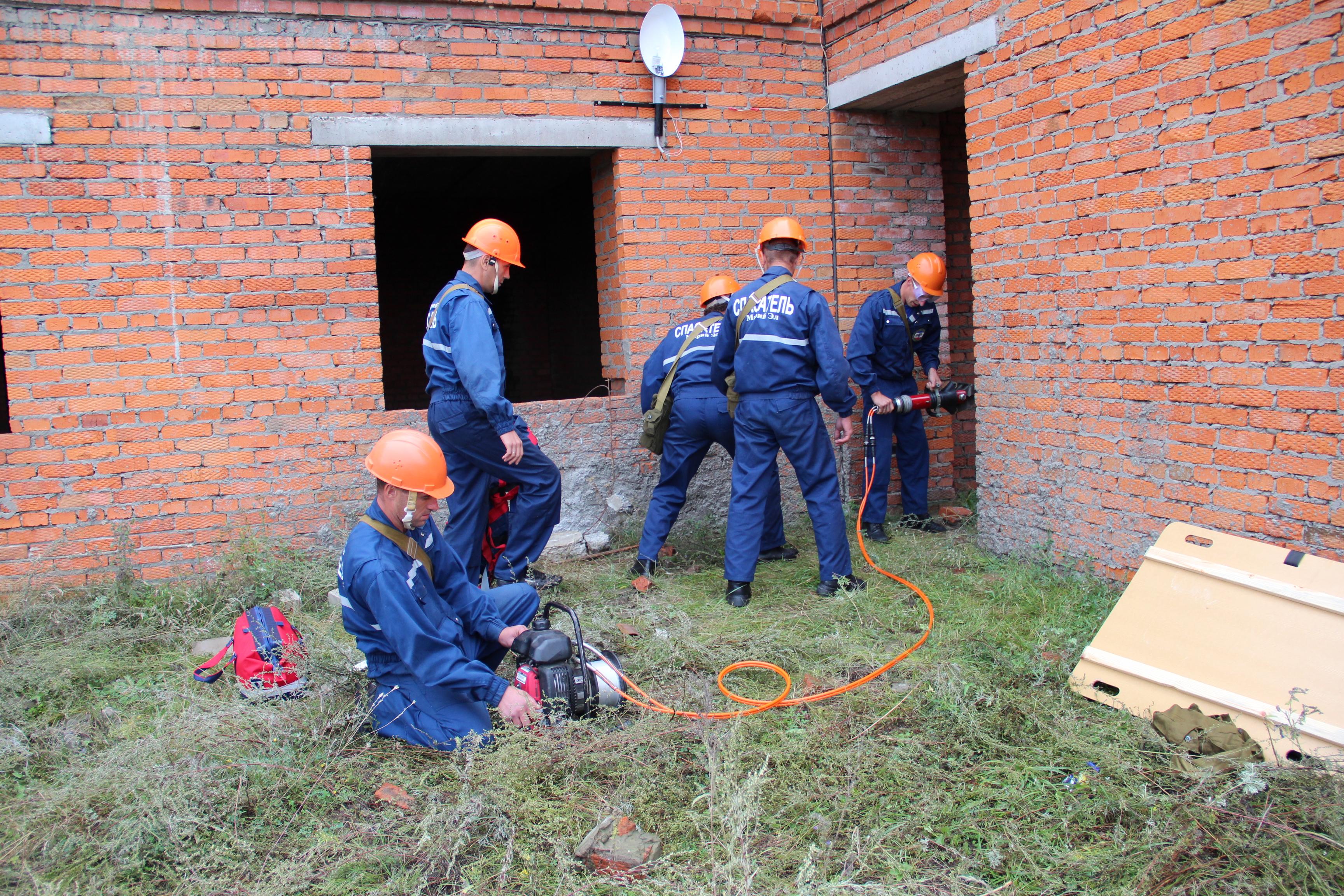 Командно-штабное учение в Юрино
