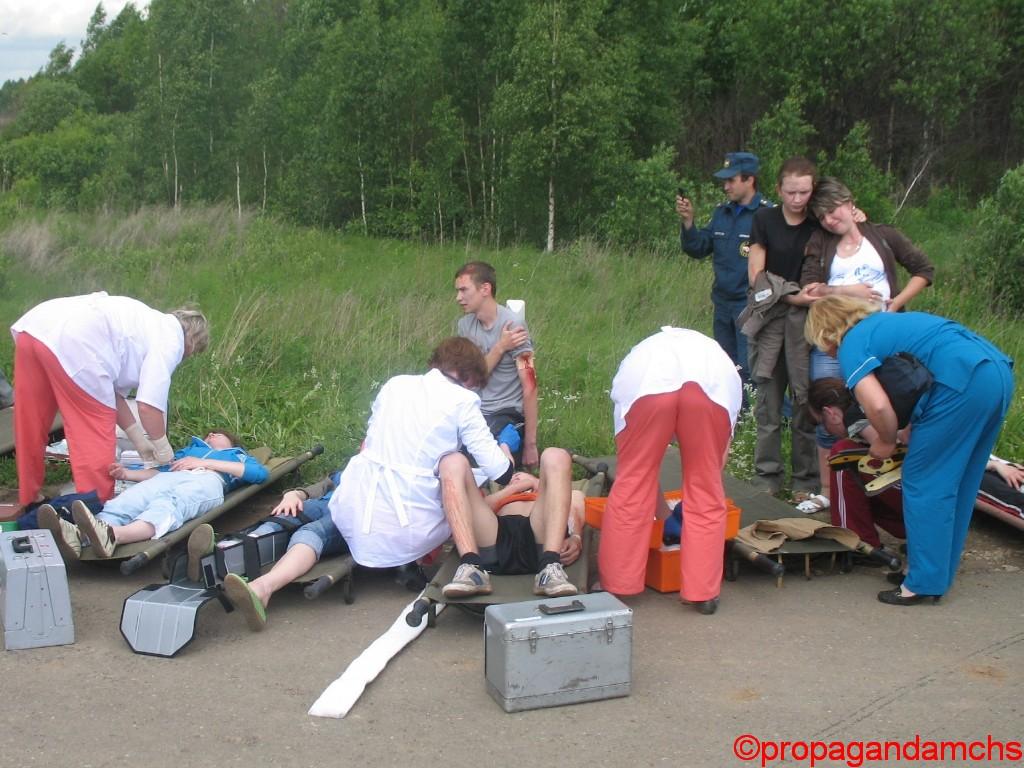 Совместные учения с Кировской областью по ликвидации последствий ДТП