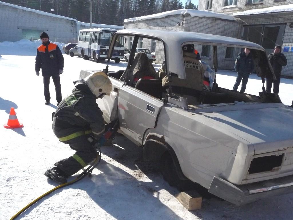 Соревнования по проведению аварийно-спасательных работ при ликвидации последствий ДТП