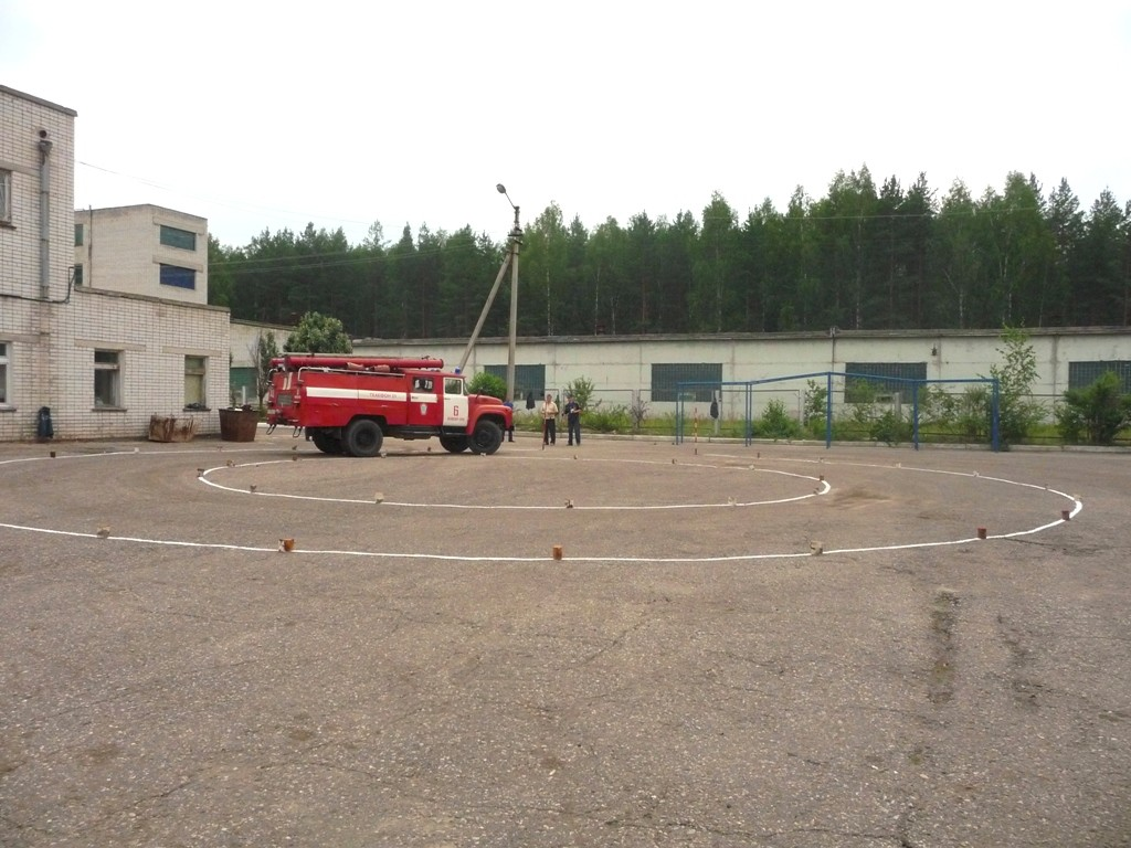 Финальный этап республиканского конкурса на звание «Лучший водитель пожарного автомобиля ГПС Республики Марий Эл»