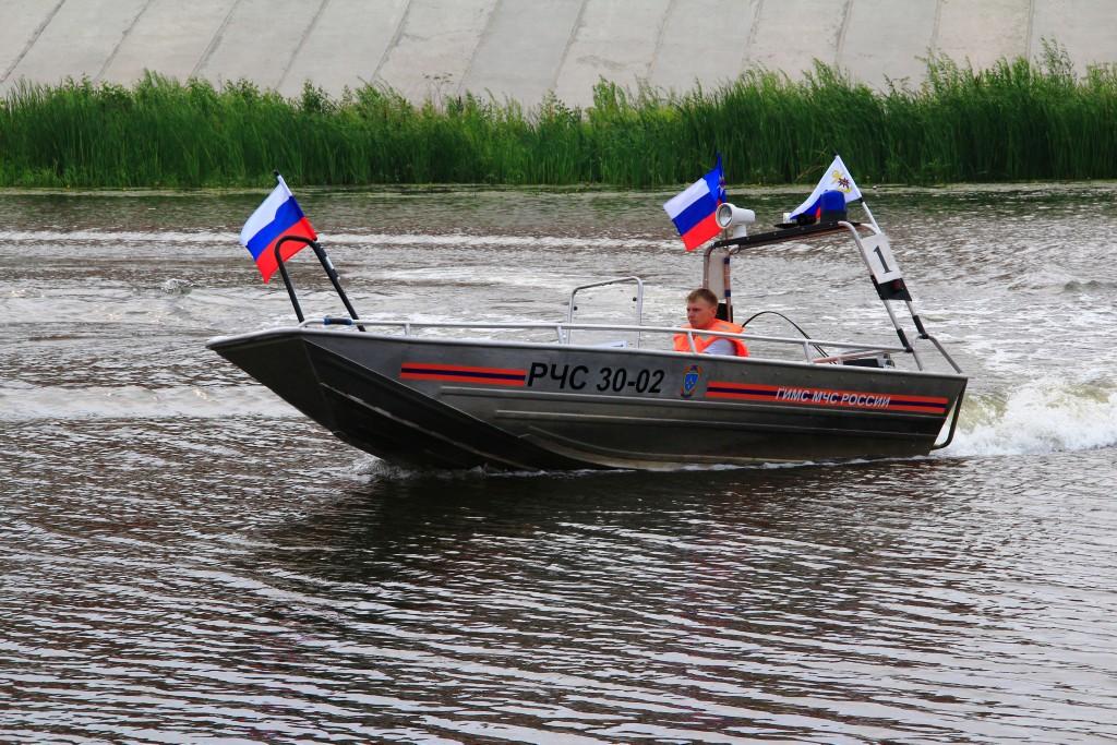 Водно-моторные соревнования ГИМС, 1 день