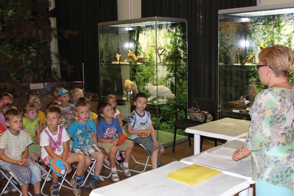 Мероприятие в музее Евсеева