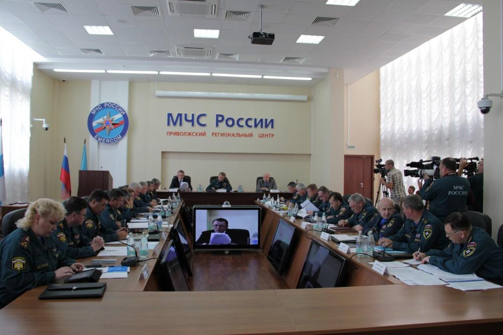 Выездная коллегия МЧС России в Нижнем Новгороде