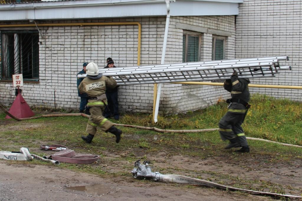 Соревнования по пожарному биатлону