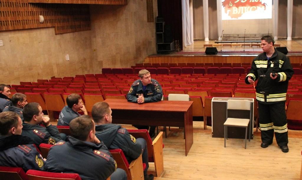 Учения на ДК им.Ленина