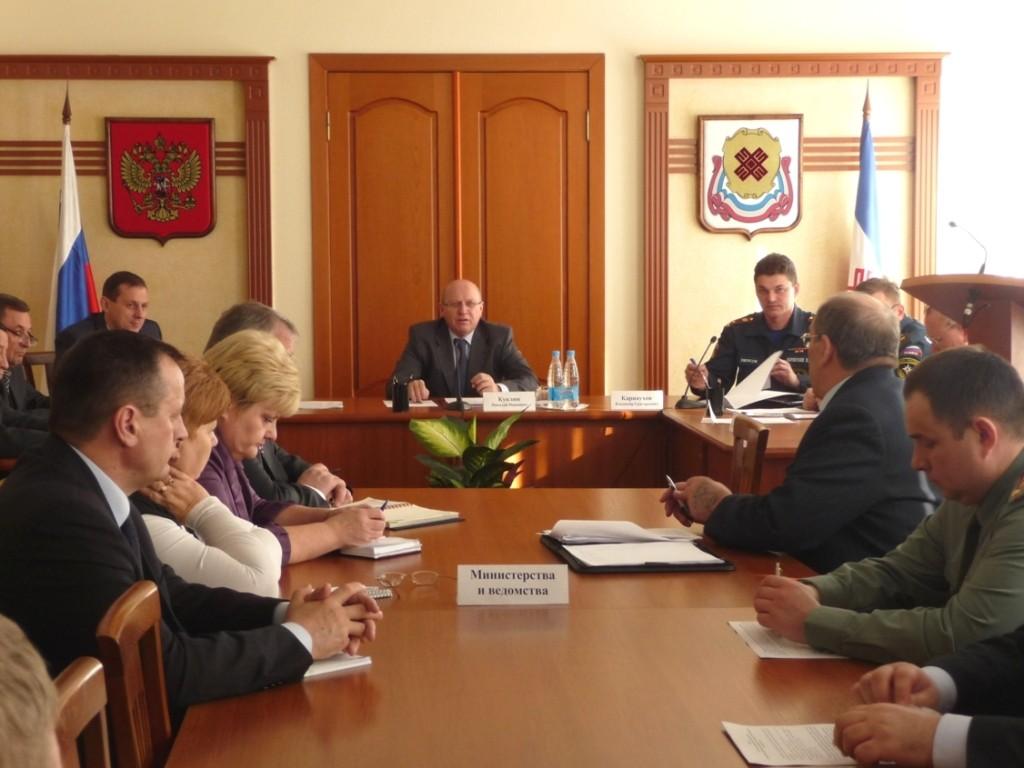 Работа межведомственной комиссии по проверке готовности республики к весенне-летнему пожароопасному сезону