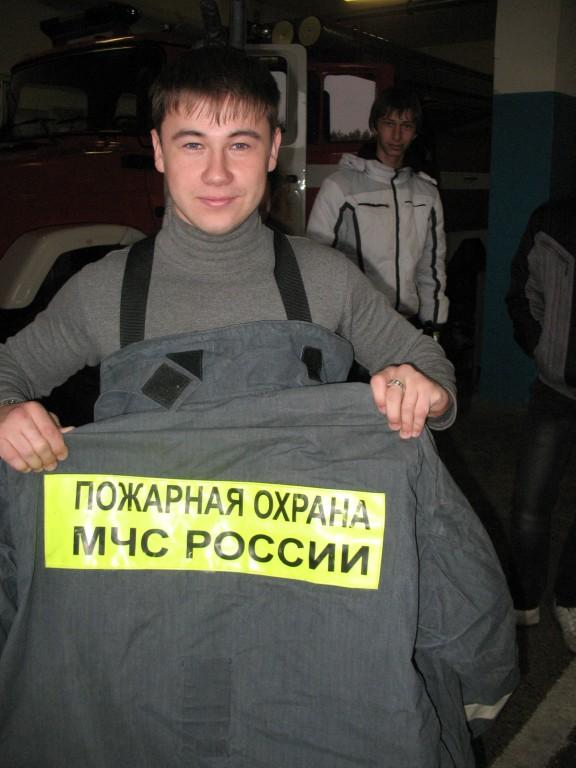 Мероприятие в ПЧ-12 г. Волжска