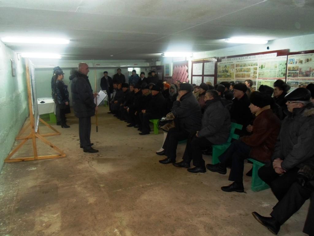 Занятия в Моркинском районе.