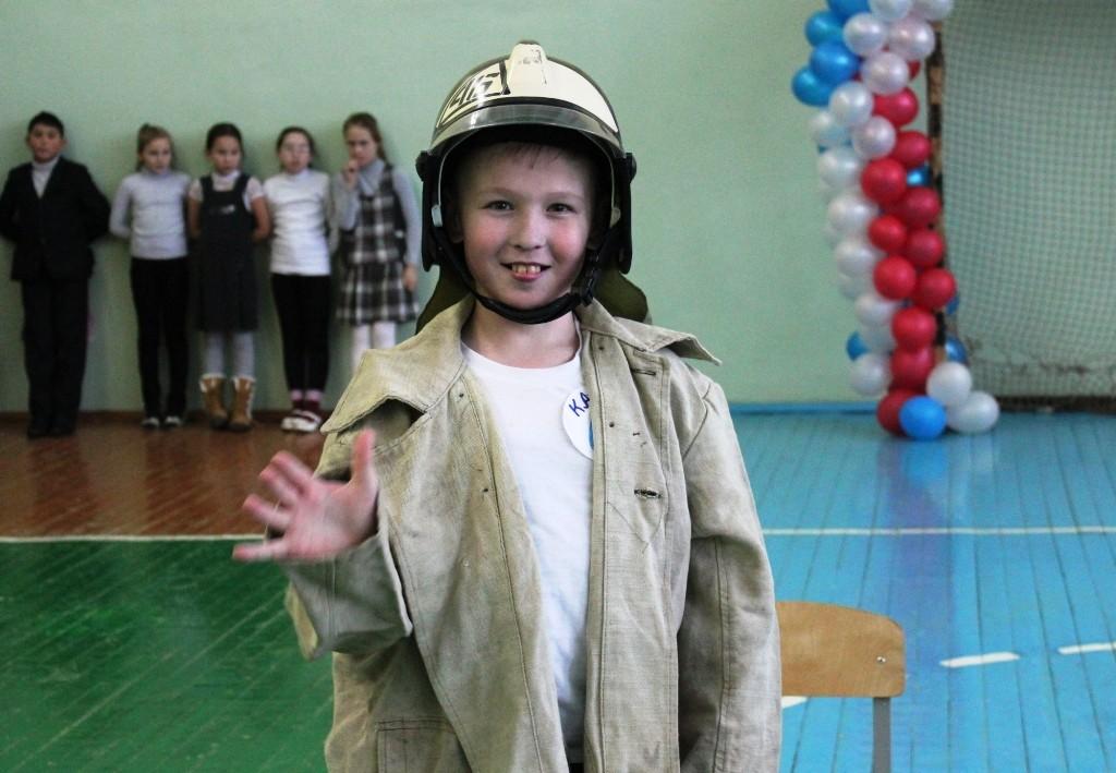 Противопожарные веселые старты в лицее-интернате пос. Ургакш Советского района