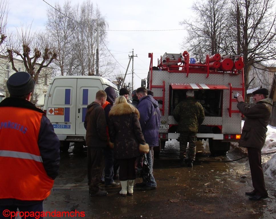 Взрыв бытового газа на ул. Советская, 63