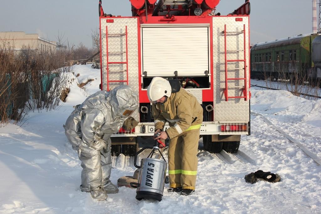 Комплексная тренировка. Отработка практических мероприятий по ликвидации аварии на железнодорожной станции г. Йошкар-Олы
