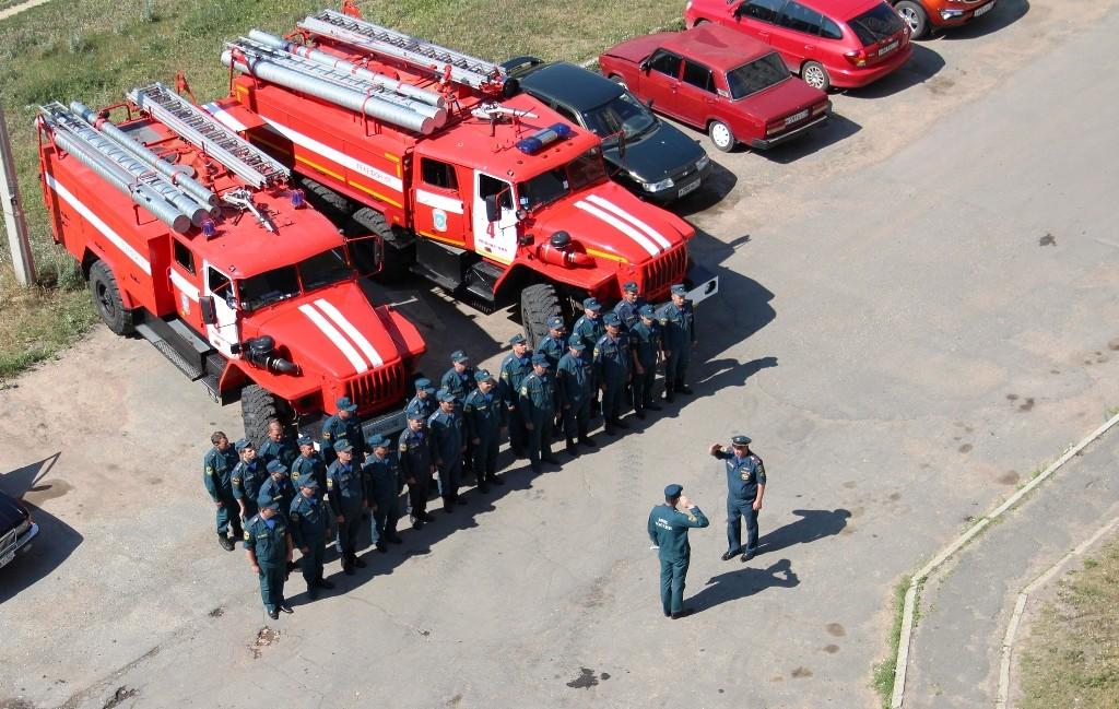 Соревнования пожарных подразделений, экплуатирующих технику для тушения пожаров в высотных зданиях