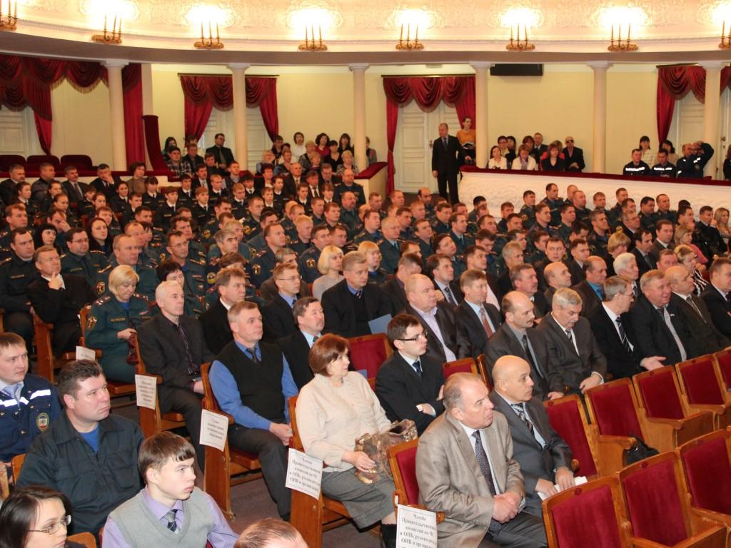 Итоги деятельности РСЧС за 2012 г.